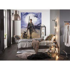 Mural-de-Parede-STAR-WARS-Rey