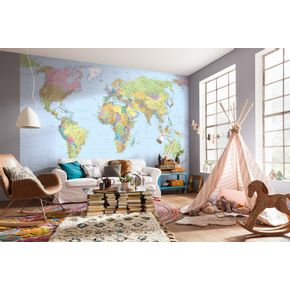 Mural-de-Parede-Mapa-do-Mundo