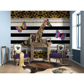 Mural-Meli-melo-girafa