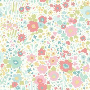 quarto-de-crianca-floral-moderno