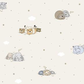 Papel-de-Parede-Treboli-Bege-Animais-Dormindo-5813