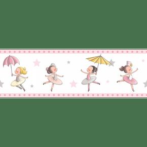 Faixa-de-Parede-Treboli-Rosa-Bailarinas-5922
