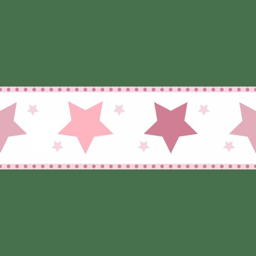 Faixa-de-Parede-Treboli-Estrelas-Rosas-5942