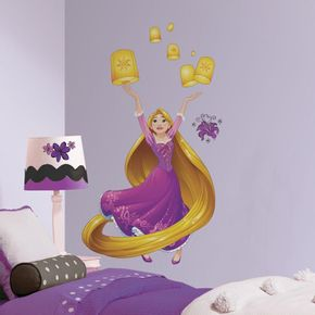 Adesivo-Princesa-Rapunzel-Brilhante-Gigante-com-Gliter_1