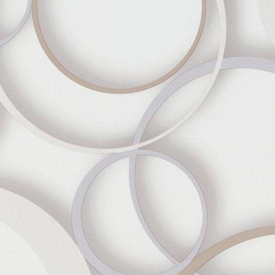 Papel de Parede DDD em 3D MAX 28301 Círculos - Rolo: 10m x 0,53m