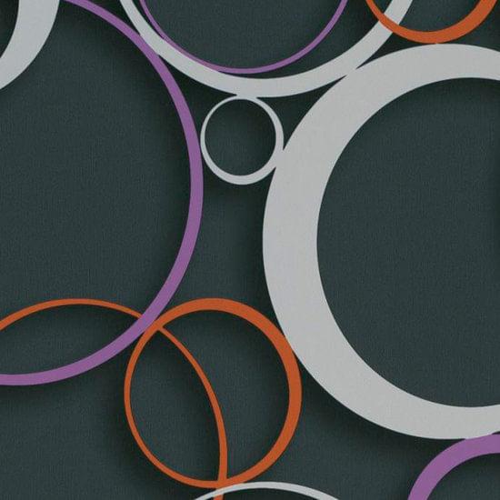 Papel de Parede DDD em 3D MAX 28305 Círculos - Rolo: 10m x 0,53m