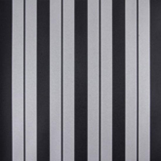 Papel de Parede Listrado Classic Stripes CT889072 Vinílico - Rolo: 10m x 0,53m