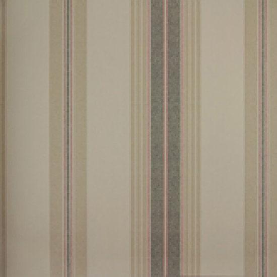 Papel de Parede Listrado Classic Stripes CT889094 Vinílico - Rolo: 10m x 0,53m