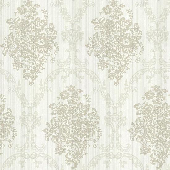 Papel de Parede Fashion Stage FE1304 Damask Floral - Rolo: 10m x 0,53m