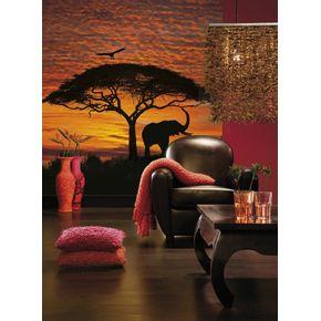 Mural-de-Parede-Por-do-Sol-Africano