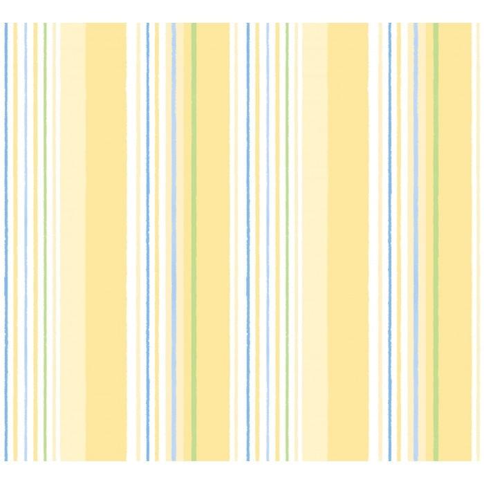 Papel de Parede Treboli Listrado Amarelo 5642 - Rolo: 10m x 0,53m