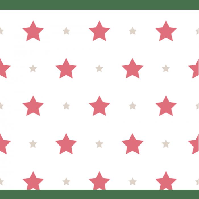 Papel de Parede Treboli Estrelas Vermelhas 5845 - Rolo: 10m x 0,53m