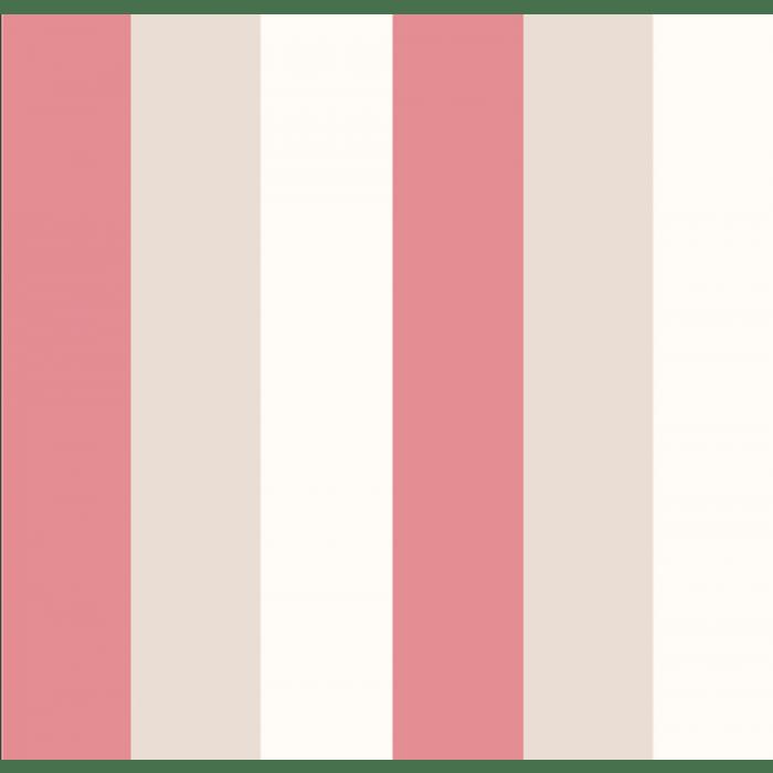 Papel de Parede Treboli Listrão Vermelho 5885 - Rolo: 10m x 0,53m