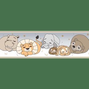 Faixa-de-Parede-Treboli-Bege-Animais-Dormindo-5913