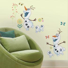 Adesivo-de-Parede-Frozen-Fever-Olaf_1