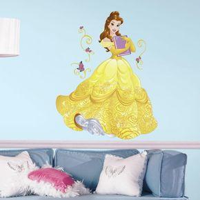 Adesivo-Princesa-Belle-Brilhante-Gigante-com-Gliter_1