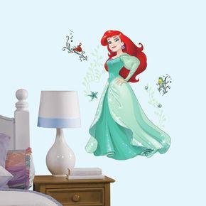 Adesivo-Princesa-Ariel-Brilhante-Gigante-com-Gliter_1