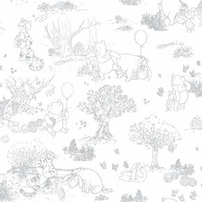 pooh-toile-dy0224