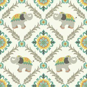 Papel-de-Parede-Elefante