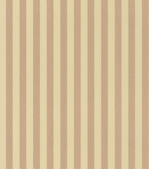 Papel de Parede Trianon XI Listrado Bege - Rolo: 10m x 0,53m