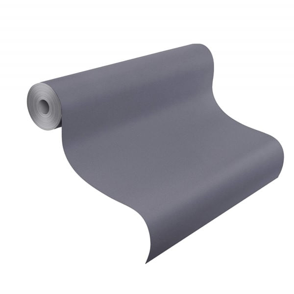 Papel de Parede Blue Velvet Cinza Escuro - Rolo: 10m x 0,53m