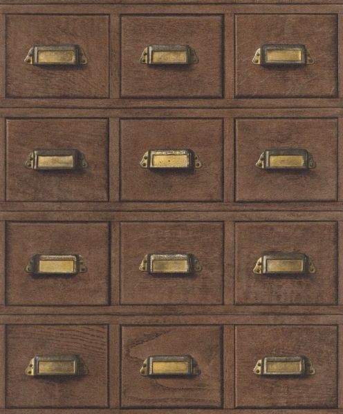 Papel de Parede Cosmopolitan Arquivo Retrô - Rolo: 10m x 0,53m