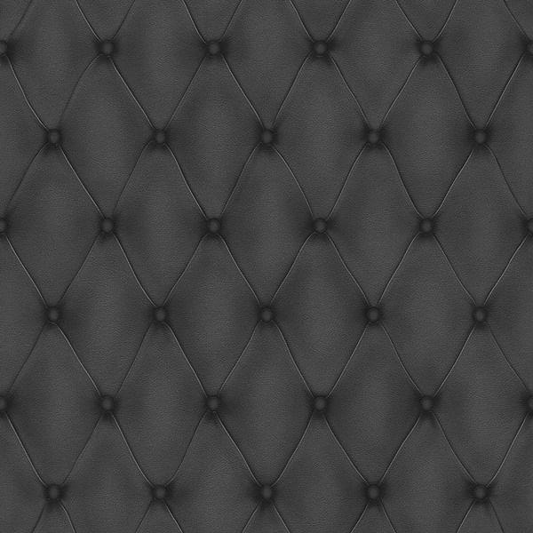 Papel de Parede Cosmopolitan Capitonê Preto - Rolo: 10m x 0,53m
