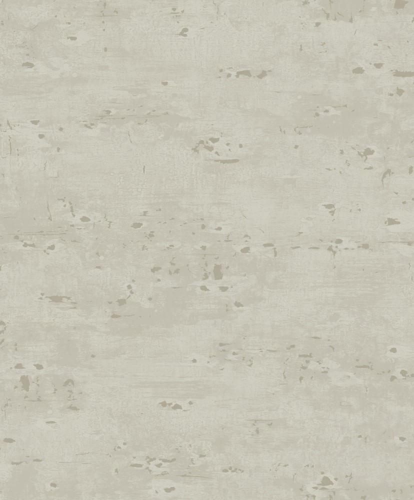 Papel de Parede Fusion Cimento Marrom Claro - Rolo: 10m x 0,53m