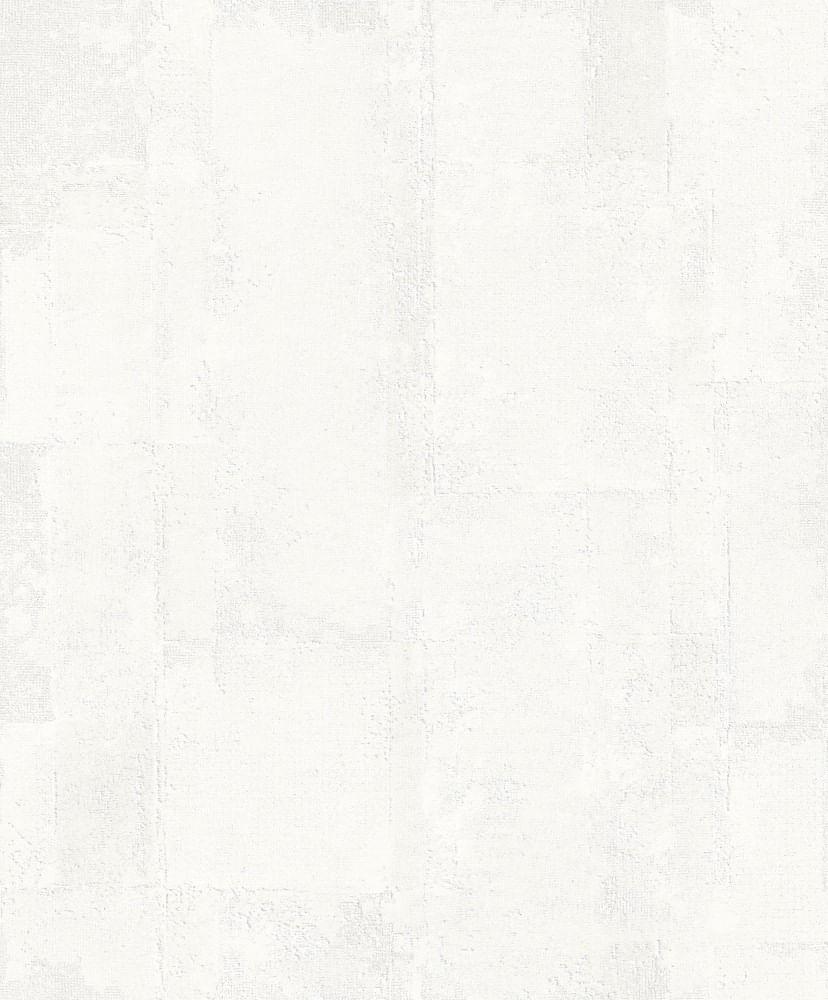 Papel de Parede Fusion Espatulado Off White - Rolo: 10m x 0,53m