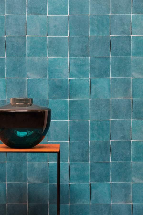 Papel de Parede Valentina Azulejo NU-19151 - Rolo: 10m x 0,53m