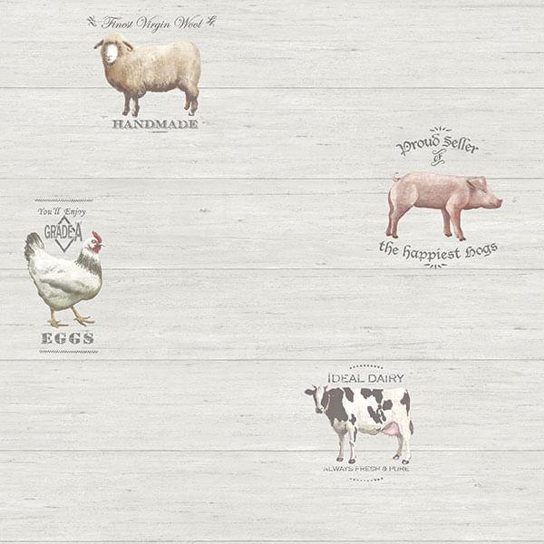 Papel de Parede Kitchen Recipes G12302 - Rolo: 10m x 0,53m