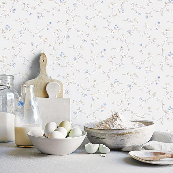 Papel de Parede Kitchen Recipes G12263 - Rolo: 10m x 0,53m