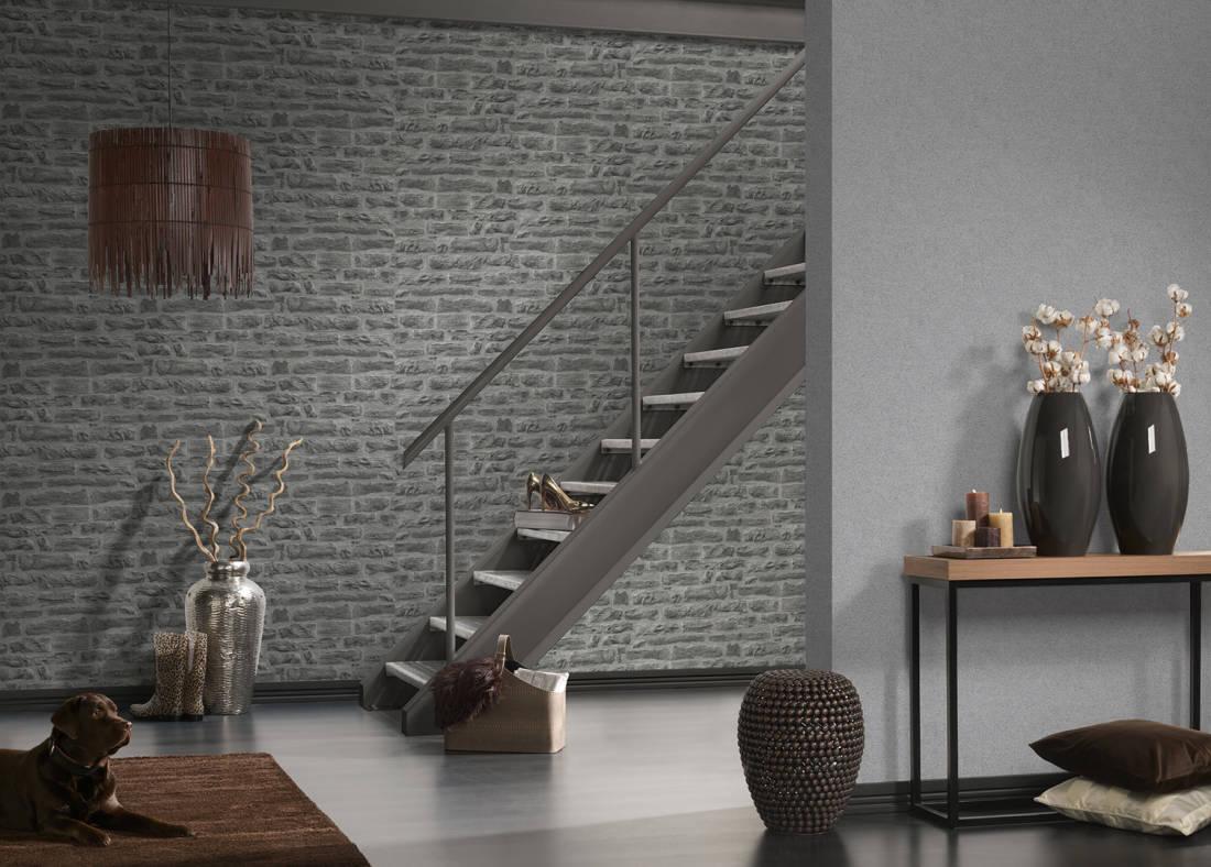 Papel de Parede Wood'n Stone 2 319442 - Rolo: 10m x 0,53m