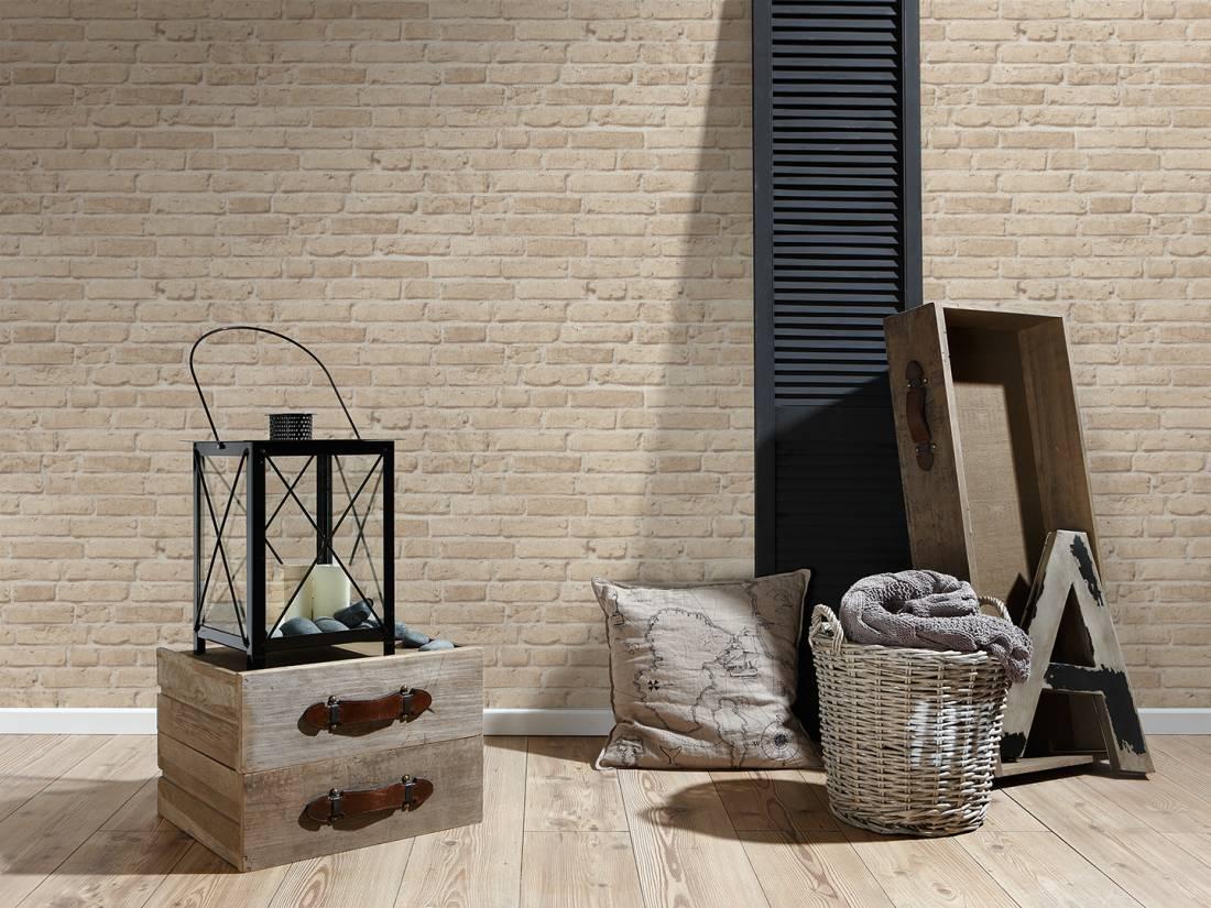 Papel de Parede Wood'n Stone 2 355812 - Rolo: 10m x 0,53m
