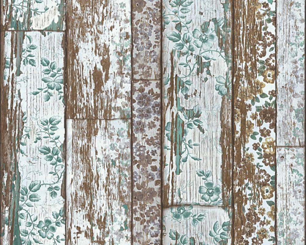 Papel de Parede Wood'n Stone 2 361193 - Rolo: 10m x 0,53m