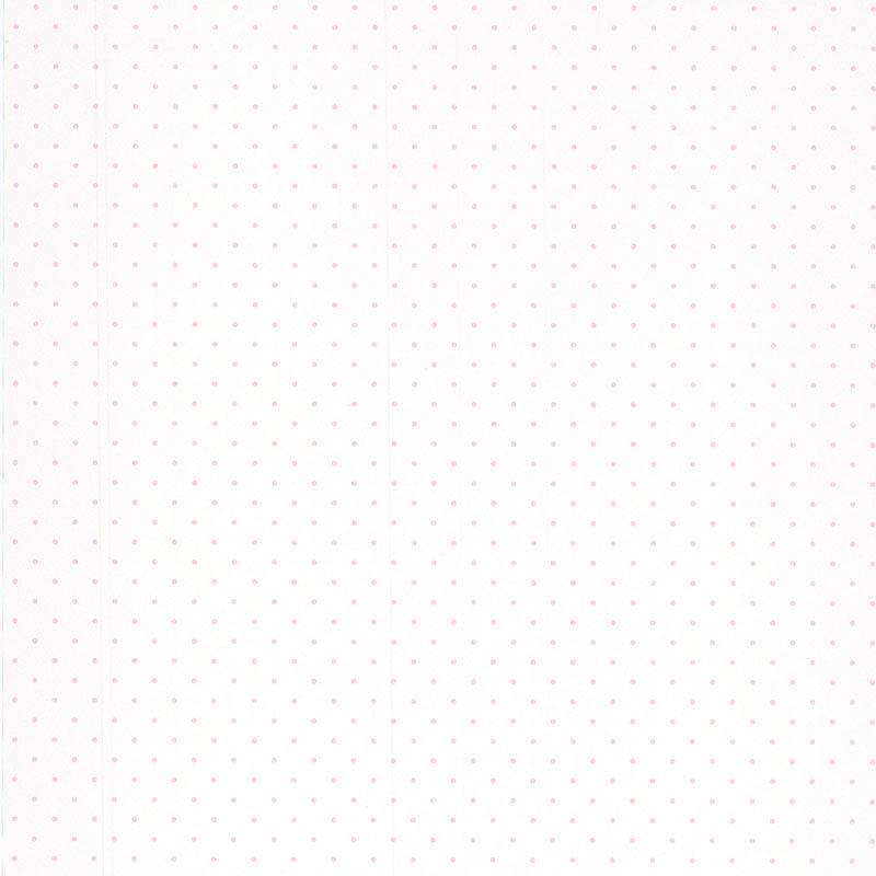 Papel de Parede Jacadi Pois Rose 11092113 - Rolo: 10m x 0,53m