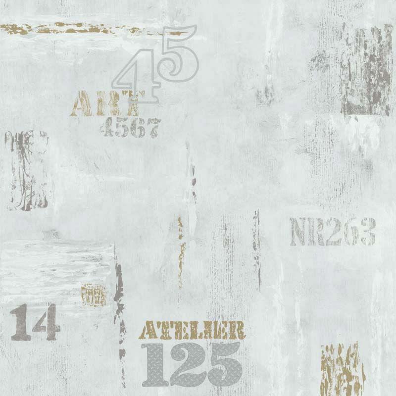 Papel de Parede Les Aventures 51165209 - Rolo: 10m x 0,53m