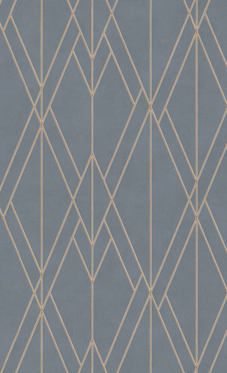 Papel de Parede Finesse Formas Geométricas 219716 - Rolo: 10m x 0,53m