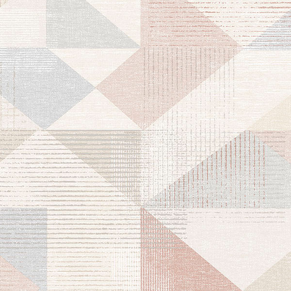 Papel de Parede Geometrix Formas Aleatórias GX37656 - Rolo: 10m x 0,53m