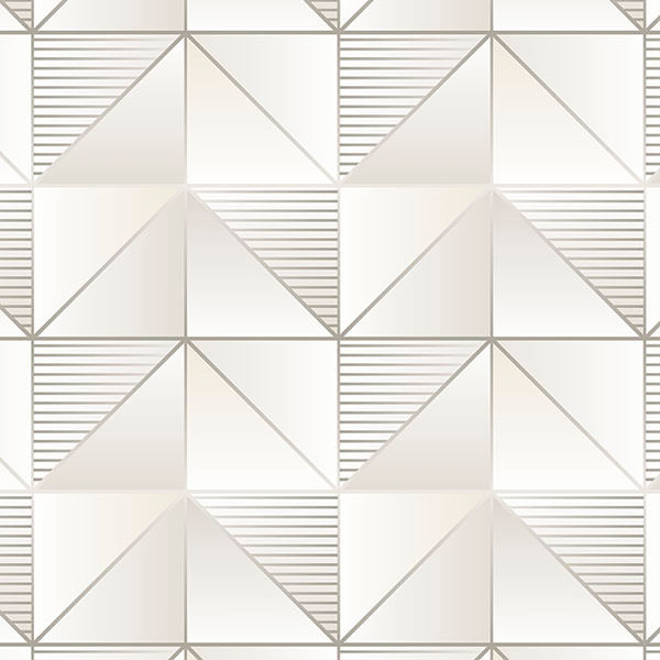 Papel de Parede Geometrix Cubos GX37633 - Rolo: 10m x 0,53m