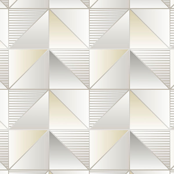 Papel de Parede Geometrix Cubos GX37631 - Rolo: 10m x 0,53m