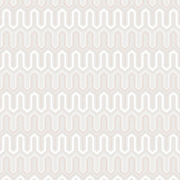 Papel de Parede Geometrix Hexágono GX37613 - Rolo: 10m x 0,53m