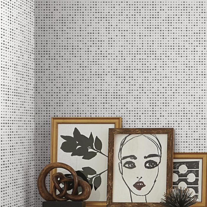 Papel de Parede Modern Art Faísca Pontilhada UC3843 - Rolo: 10m x 0,52m