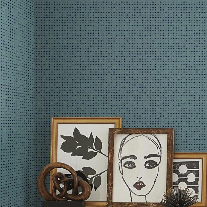 Papel de Parede Modern Art Faísca Pontilhada UC3840 - Rolo: 10m x 0,52m