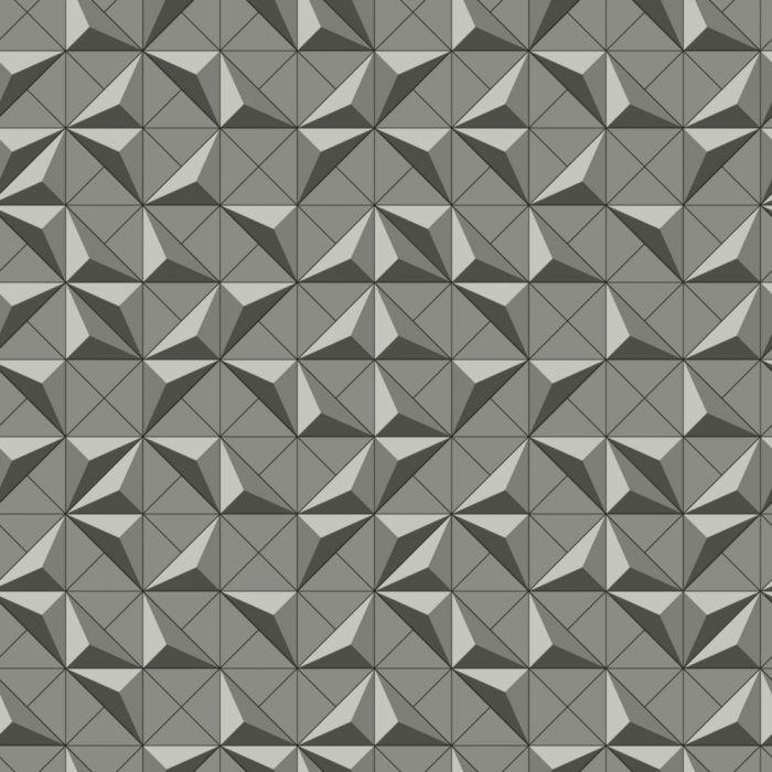 Papel de Parede Modern Art Quadrado DI4723 - Rolo: 10m x 0,52m