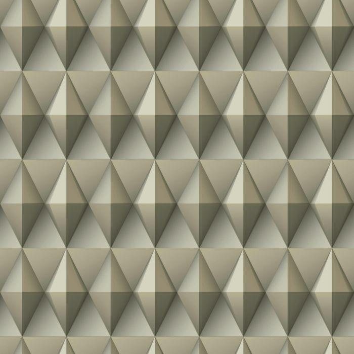 Papel de Parede Modern Art Geométrico Quadrado DI4716 - Rolo: 10m x 0,52m