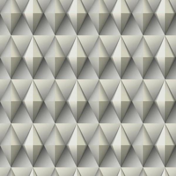 Papel de Parede Modern Art Geométrico Quadrado DI4714 - Rolo: 10m x 0,52m