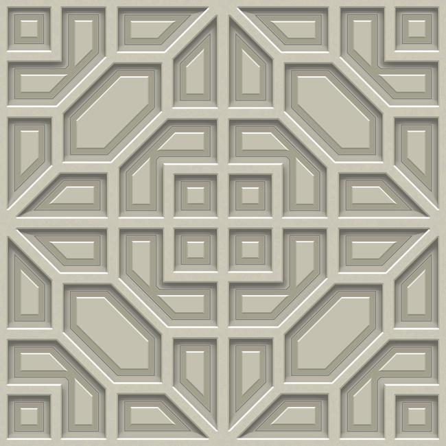 Papel de Parede Modern Art Polígonos DI4702 - Rolo: 10m x 0,52m