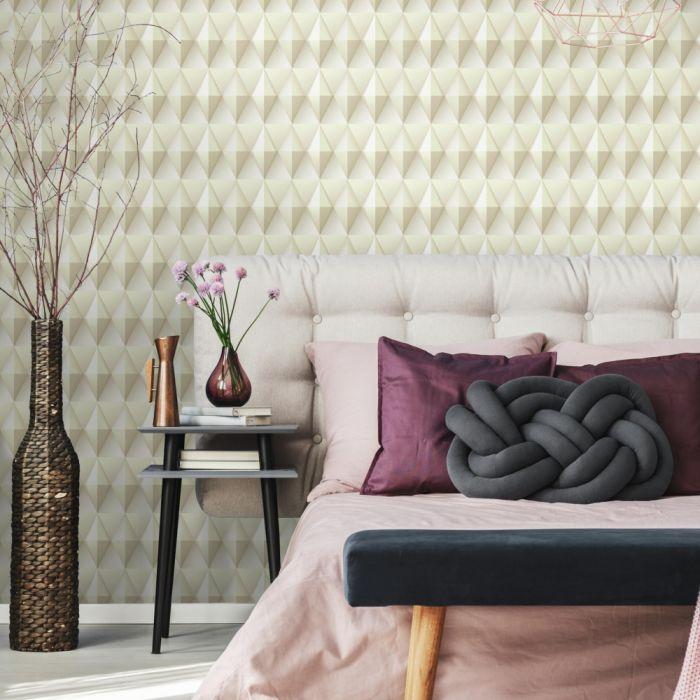 Papel de Parede Modern Art Geométrico Quadrado DI4712 - Rolo: 10m x 0,52m