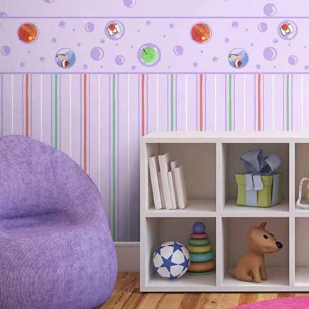 Faixa de Parede Play 98915 - Tam 10m x 17,5cm (C x A)